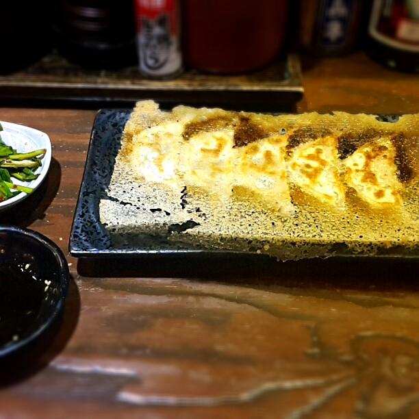 麺屋三代目羽根つき餃子