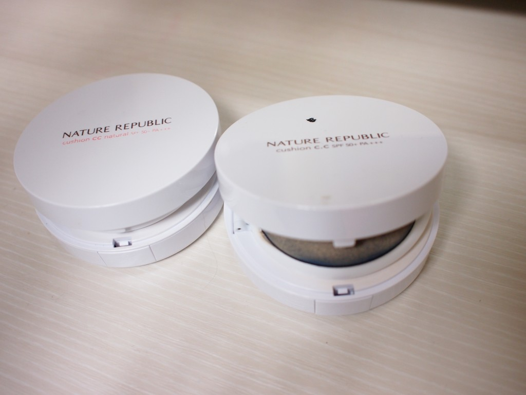 nature republic cushion cc比較