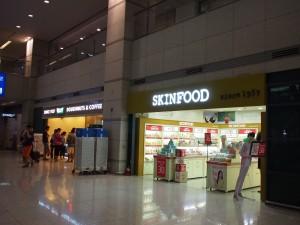 仁川国際空港到着ロビー
