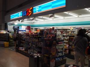 仁川国際空港到着ロビーコンビニ