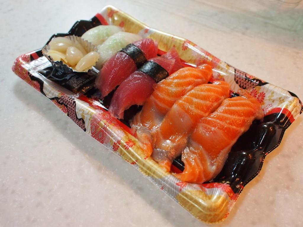 韓国のデパ地下のお寿司