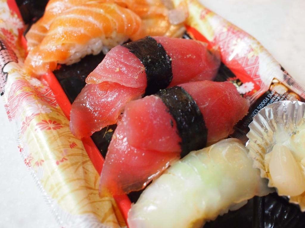 デパ地下のお寿司、マグロ