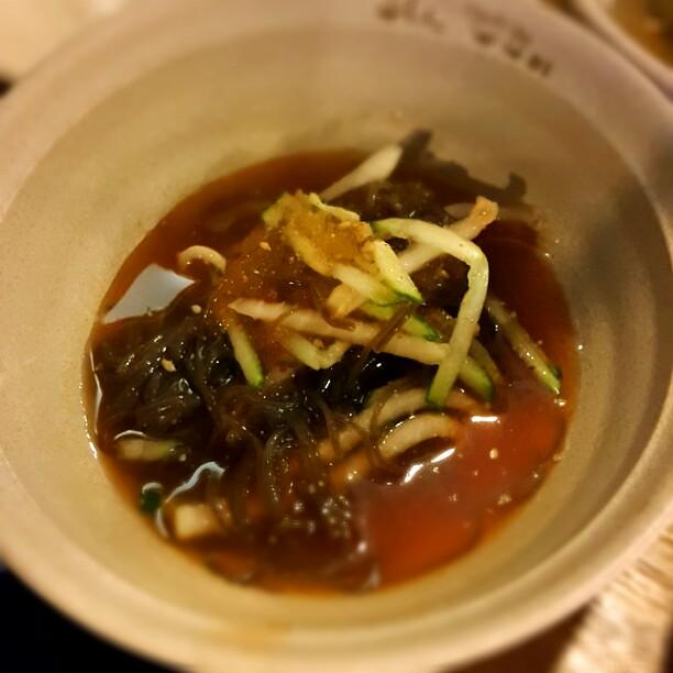 水冷麺…赤い