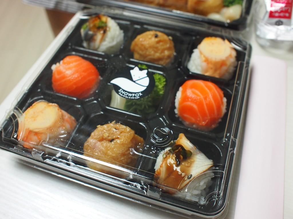 SNOWFOX手まり寿司