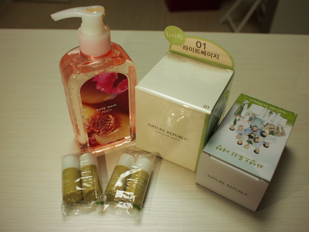 Nature Republic買い物