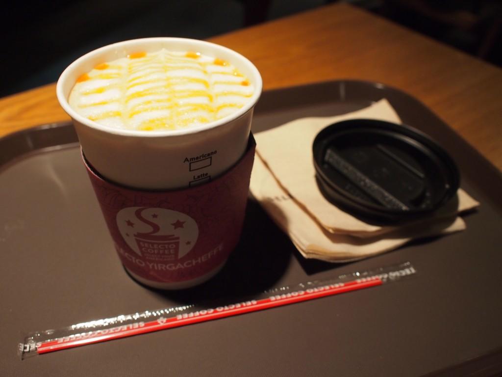 SELECTO COFFEEキャラメルマキアート