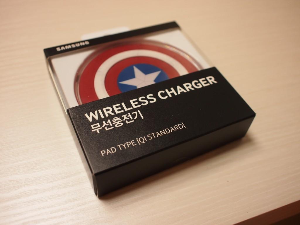 Samsung Galaxy無線充電器外箱