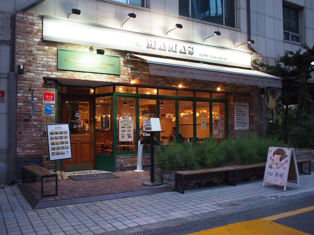Cafe MAMAS外観