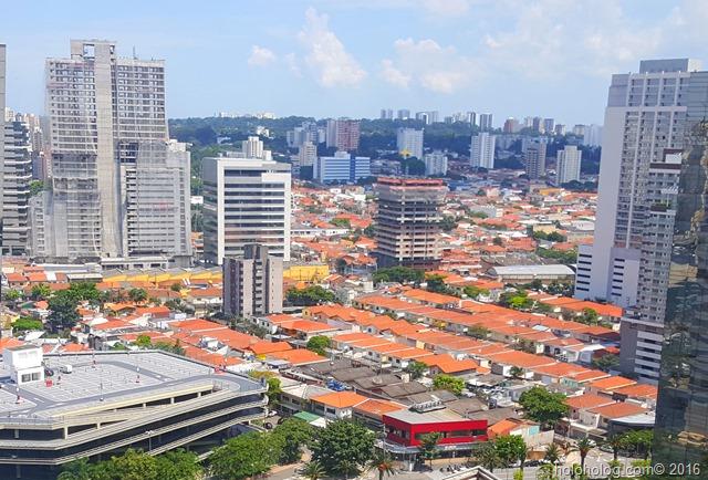 ブラジル、サンパウロの住宅地