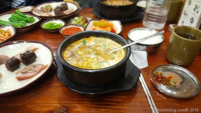 韓国で外食