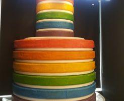 DORE DOREの虹色ケーキ