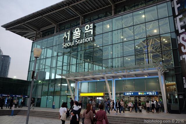 韓国旅行】ソウル駅から明洞まで...